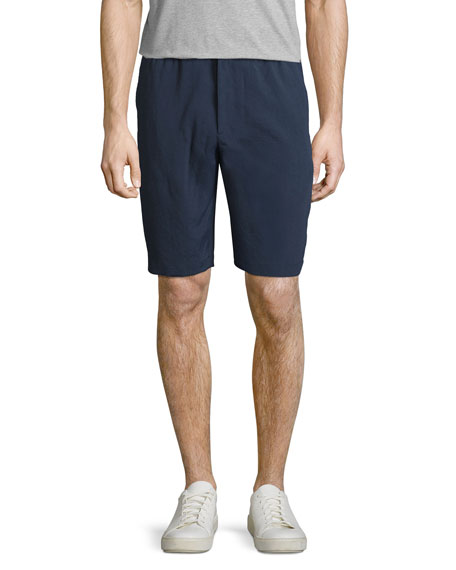 Theory Plymouth NC Forged Linen Shorts