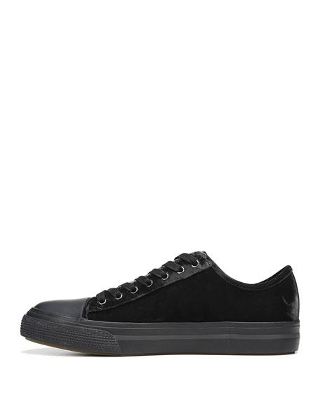 Tiller Low-Top Velvet Sneaker