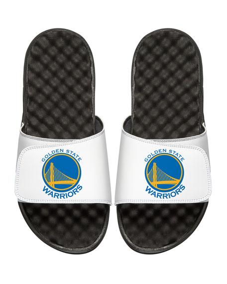 ISlide Men's NBA Golden State Warriors Primary Slide Sandals