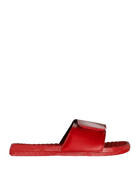 ISlide Men's Tropical Floral Slide Sandals