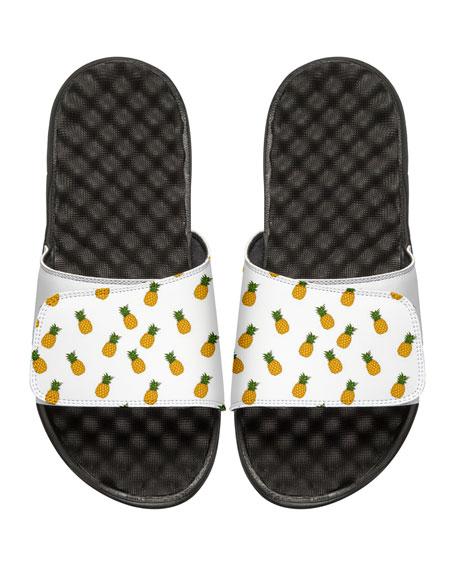 ISlide Men's Pineapple Slide Sandals