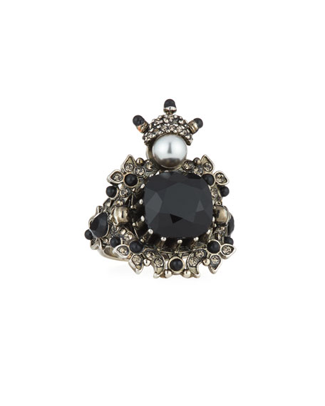 House of Skull Swarovski® Crystal Ring