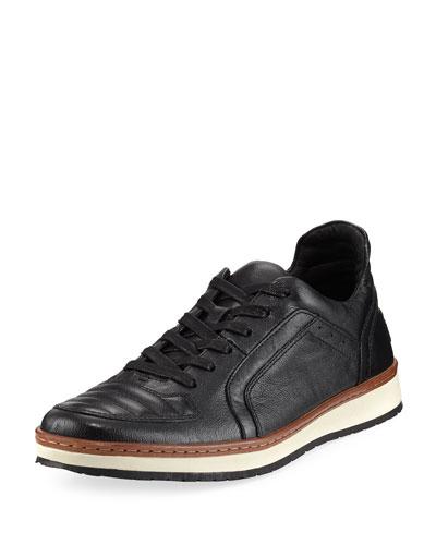 Men's Barrett Leather Creeper Low-Top Sneakers