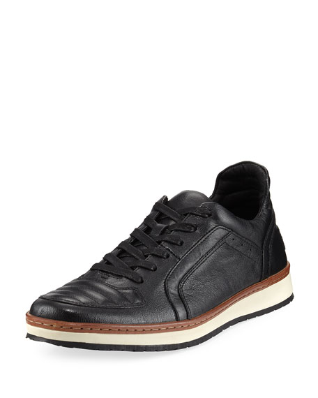 Men's Barrett Leather Creeper Low-Top Sneakers