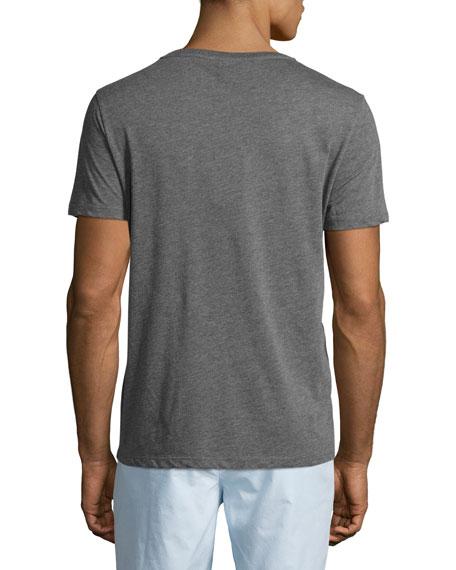 Martford Logo-Print Jersey T-Shirt, Gray
