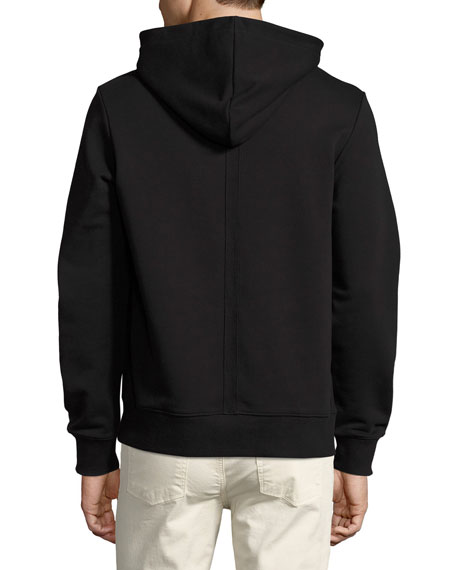 Appalachian Winter Cotton Hoodie, Black