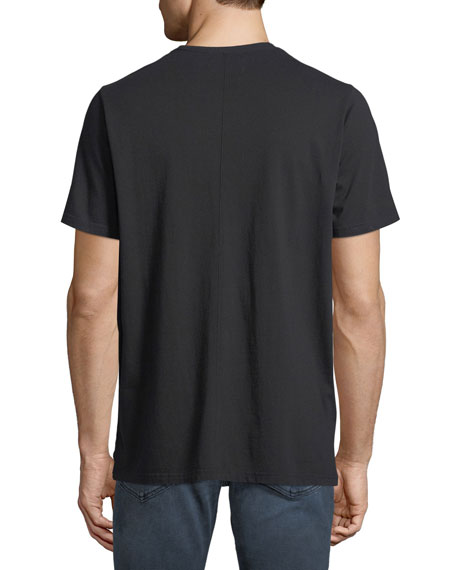 Ovadia & Sons Zip-Pock Cotton T-Shirt