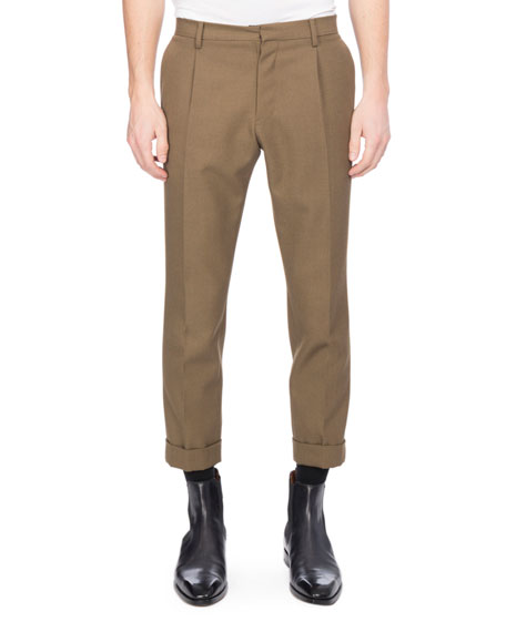 Berluti Twill Wool Trousers and Matching Items