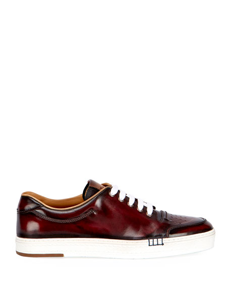 Image 2 of 3: Men's Playtime Palermo Calf Leather Sneaker