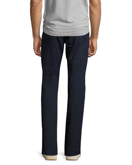 Slim Cotton 5-Pocket Pants