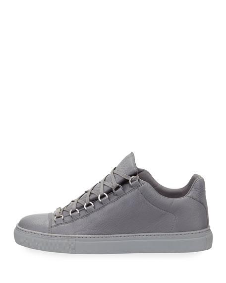 Men's Arena Leather Low-Top Sneakers