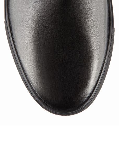 Herald Leather Slip-On Sneaker