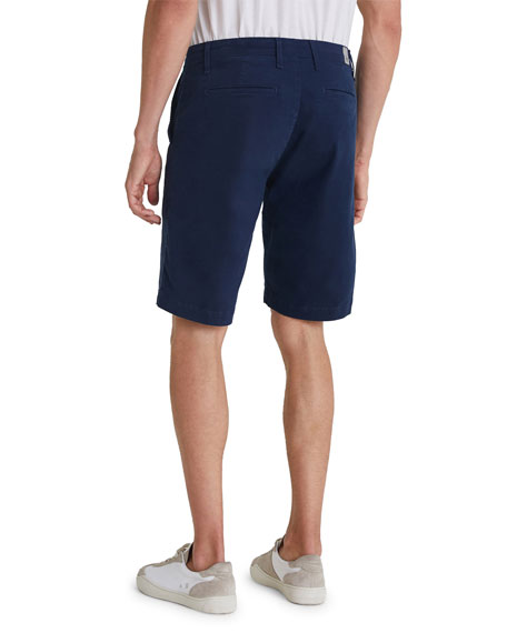 AG Griffin Flat-Front Shorts