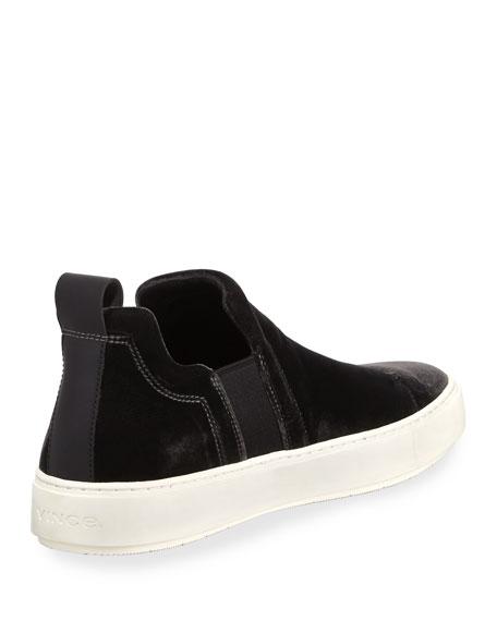 Men's Lucio Velvet Slip-On Sneakers