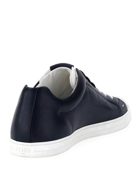 Men's Monster Leather Low-Top Sneakers