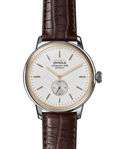 42mm Bedrock Chronograph Watch
