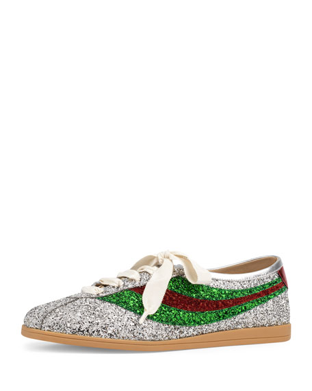 Gucci Falacer Glitter Bowler