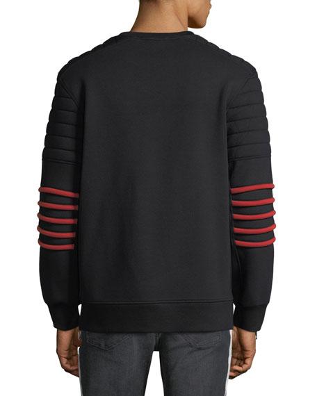 Neoprene Crewneck Sweatshirt