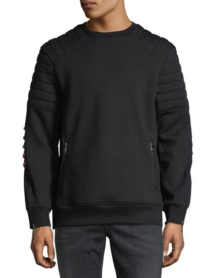 Neil Barrett Neoprene Crewneck Sweatshirt