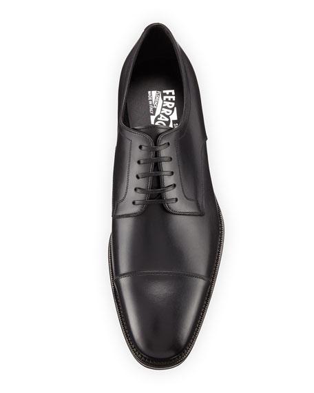 Men's Leather Cap-Toe Oxford