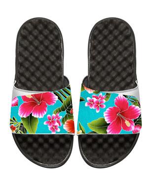 a046aef56997 ISlide Kauai Tropical Floral Slide Sandal