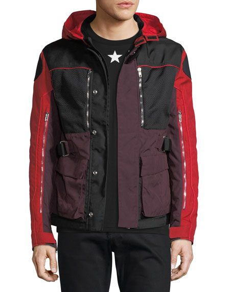 Givenchy Mixed-Media Ski Parka