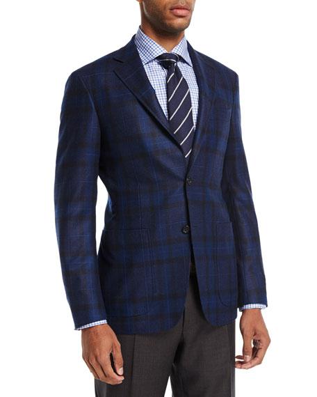 Canali Plaid Wool Sport Coat