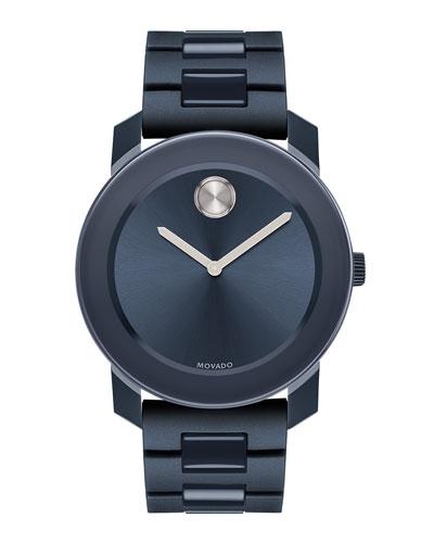 42mm Bold Watch, Navy