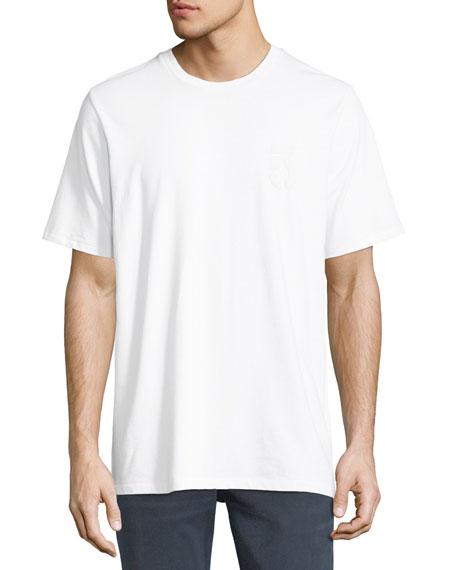 Rag & Bone Flocked 5 Print T-Shirt
