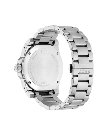 Gucci 45mm Gucci Dive Stainless Steel Bracelet Watch