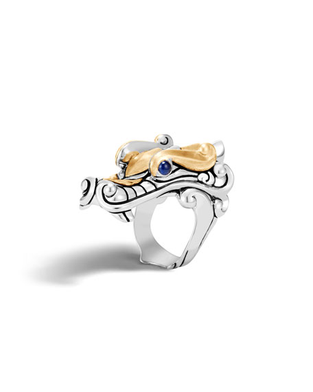 John Hardy Men's Legends Naga Dragon Ring