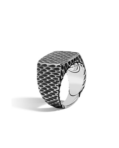 Men's Legends Naga Dragon Signet Ring