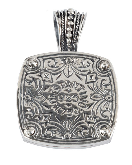 Men's Heonos Sterling Silver Cross Pendant