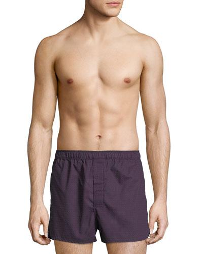 Nelson 60 Modern-Fit Cotton Boxer Shorts