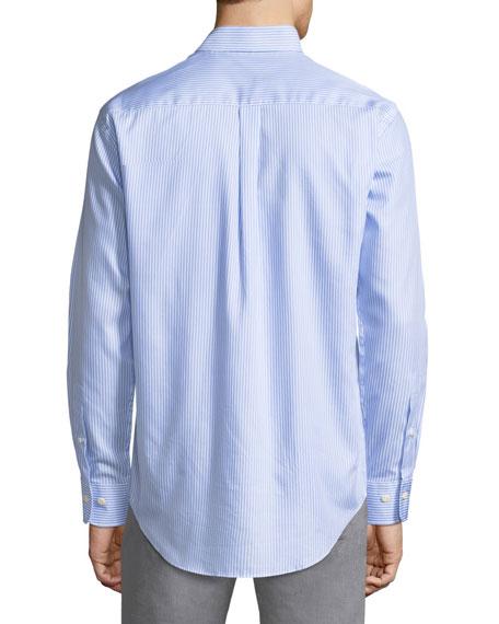 Crown Pinstripe Sport Shirt
