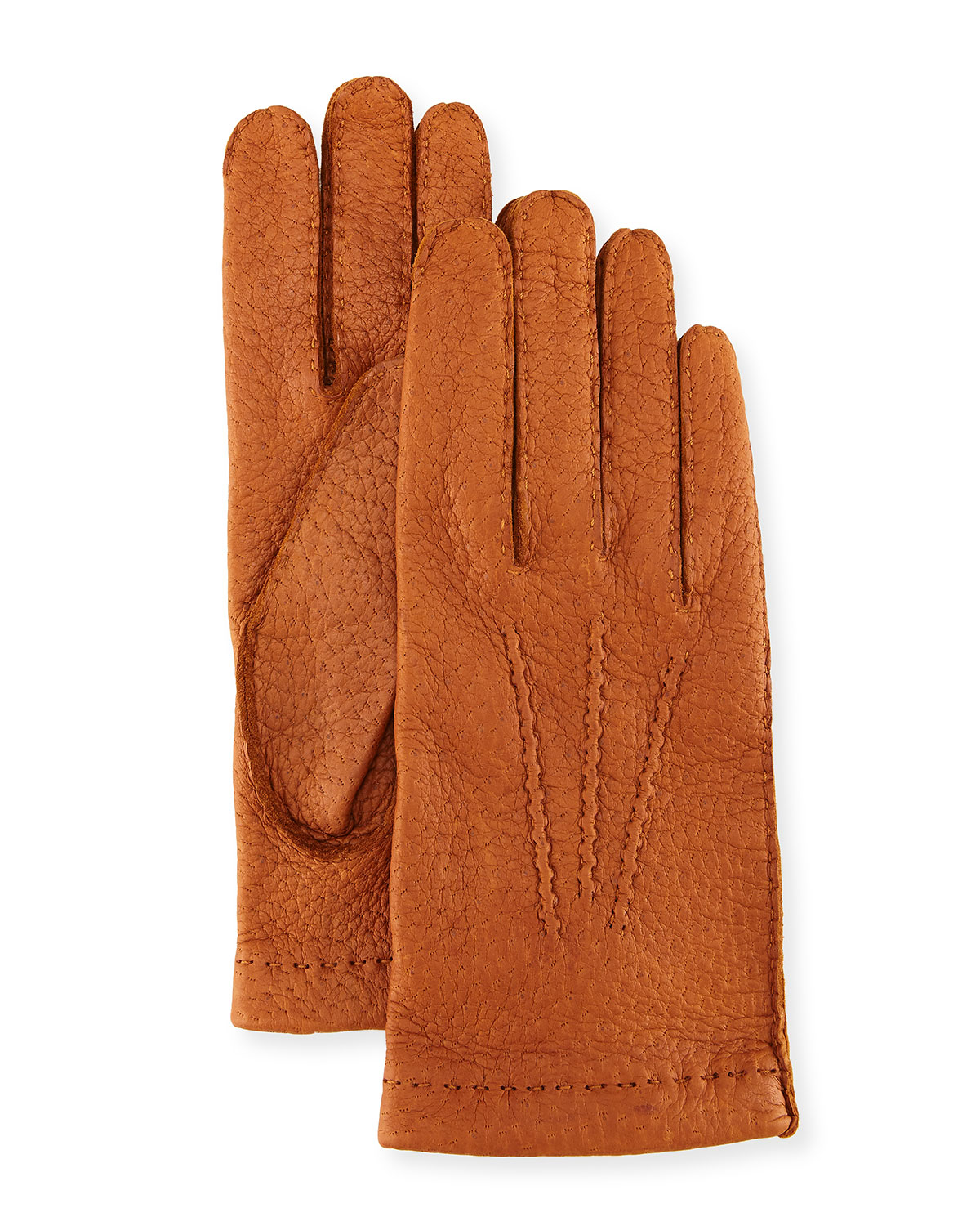 e5eef065b69a9 Hestra Gloves Peccary Hand-Sewn Leather Unlined Gloves | Neiman Marcus