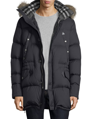 Hartson Hooded Quilted Jacket