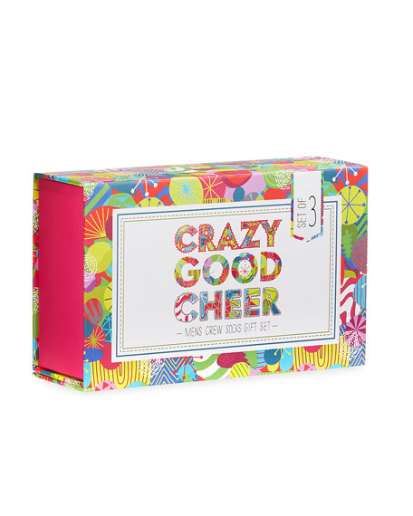 Crazy Good Cheer Socks Holiday Gift Set