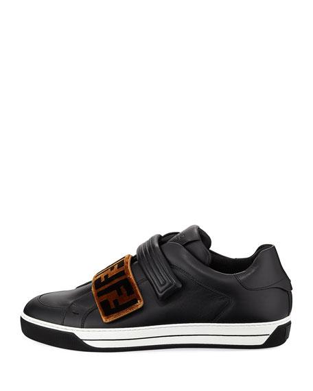 Signature Grip-Strap Low-Top Sneaker