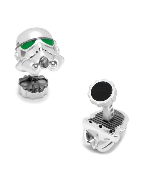 Cufflinks Inc. 3D Star Wars Stormtrooper Cuff Links