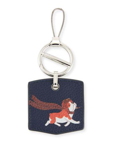 Boston Bulldog Key Chain
