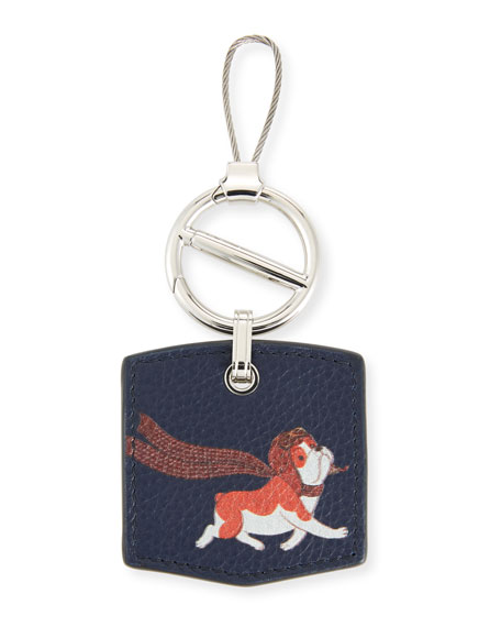 Boston Bulldog Key Chain