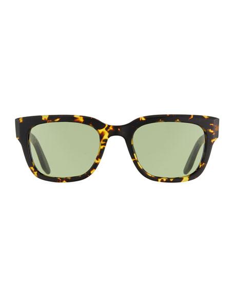 Men's Stax Square Tortoiseshell Sunglasses