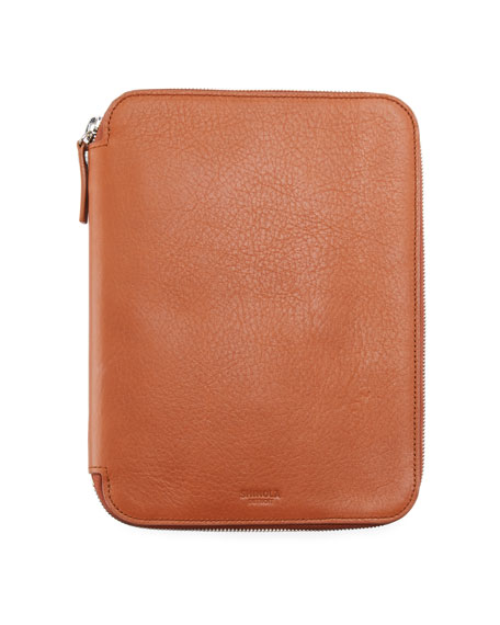 Shinola Men's Embossed Tech Portfolio Case