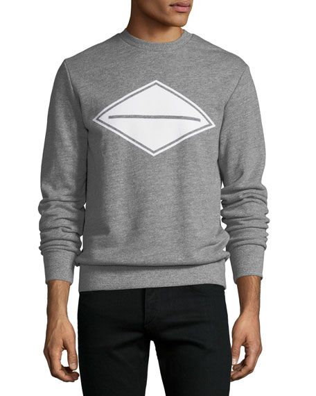 Men's Diamond Logo-Graphic Sweatshirt