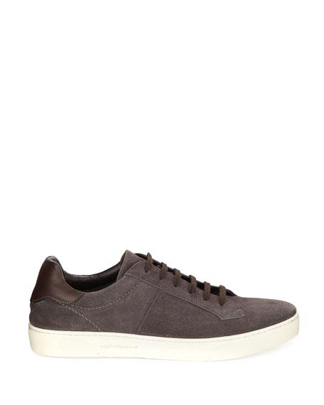 Vulcanizzato Men's Suede Low-Top Sneakers