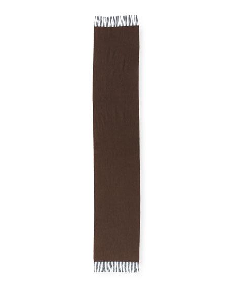 Arran Semi-Reversible Cashmere Scarf