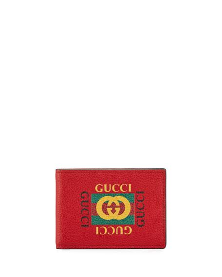 Gucci Bi-Fold Logo Wallet