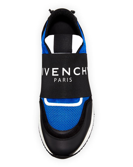 GIVENCHY Suedes BANDED ACTIVE RUNNING SNEAKER