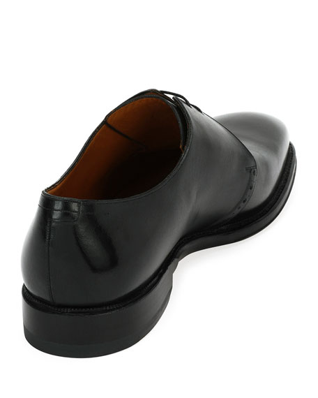 Skamberg Derby Lace-Up Leather Oxford Shoe